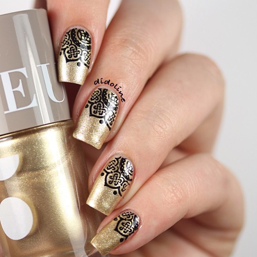 Gold-Wedding-Manicure5