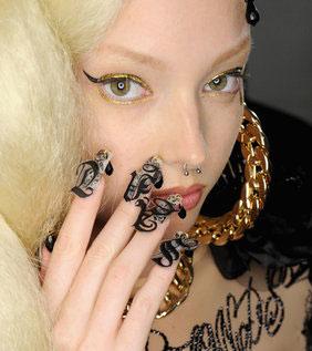 Những Mẫu Móng Nghệ Thuật Nhất từ New York Fashion Week