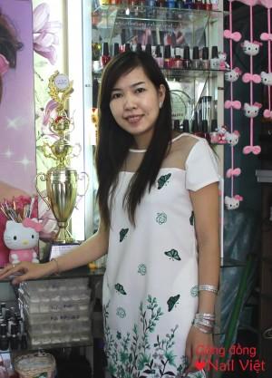 Salon nail Hân Hằng – chắp cánh đam mê với nghề