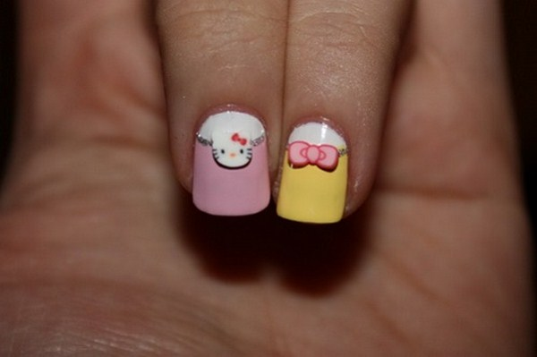 Kiti-Howaito-pastel-Hello-Kitty-Nail-Art (Copy)