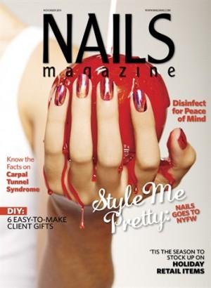 Hướng Dẫn Vẽ Nail Như Trang Bìa Tháng 11 của tạp chí Nails