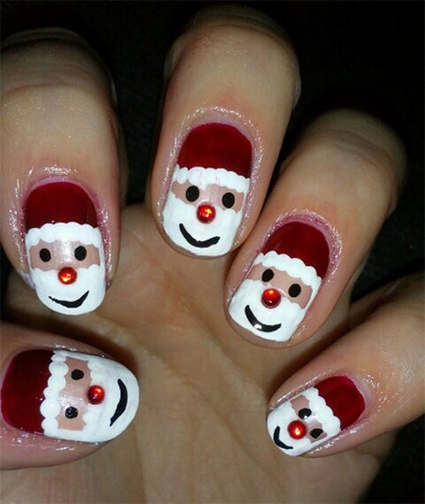 Easy-Santa-Nail-Art-Designs-Ideas-2013-2014-Xmas-Nails-4 (Copy)
