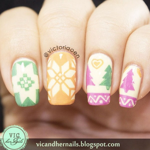 Pastel-Christmas-nails-by-@Victoriaoen (Copy)