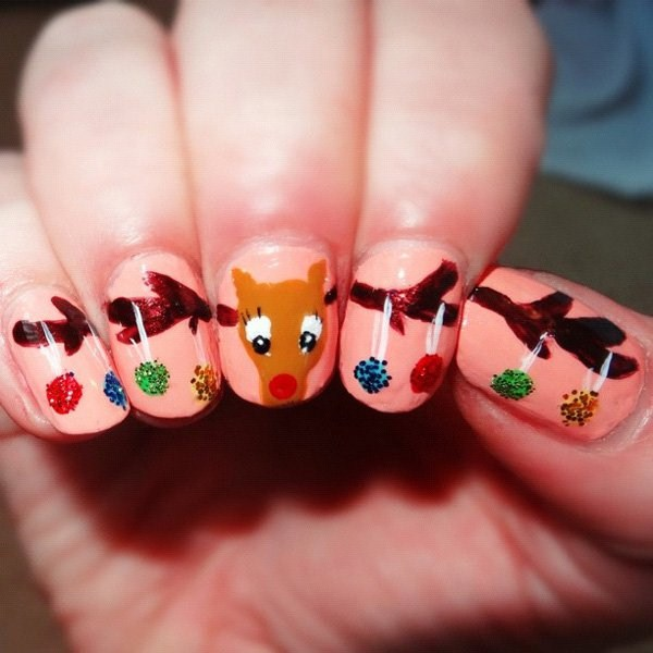Reindeer-nail-art-for-christmas (Copy)