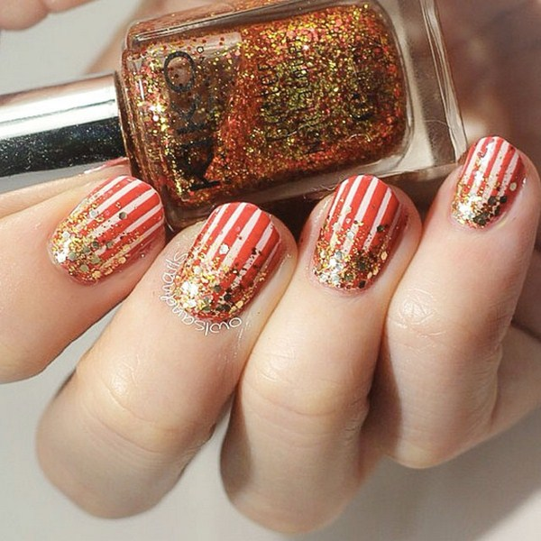Stripey-Christmas-nail-art-by-@OwlsAndNails (Copy)