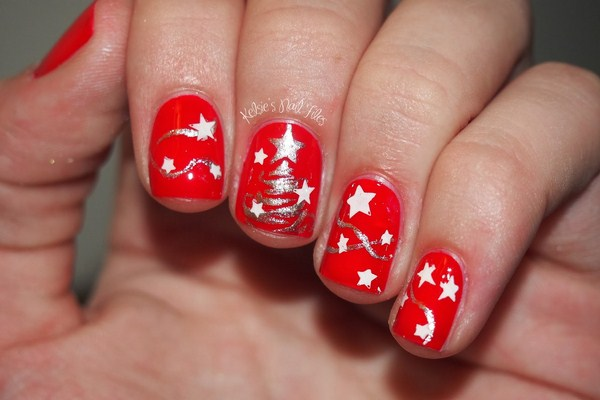 christmas-nail-art-cool-silver-glitter-christmas-tree-and-stars-motif-ideas-on-striking-red-nail-art-design-for-short-nails-christmas-nail-art (Copy)