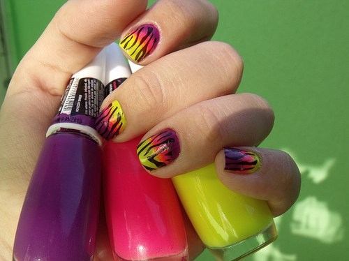 girly-manicure-nail-art-nail-polish-nails-pink-Favim.com-63785