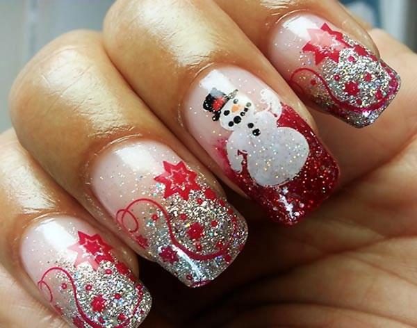 silver-glitter-gradient-snowman-christmas-nails (Copy)