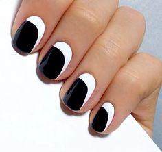 Hướng dẫn vẽ nail đơn giản: Một dấu gạch chéo