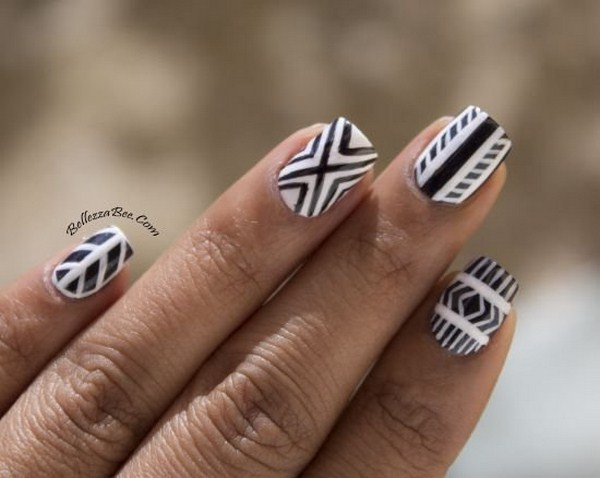 Stylish-Top-15-Black-White-Nail-Art-Designs-Selection-2014-2015-8 (Copy)