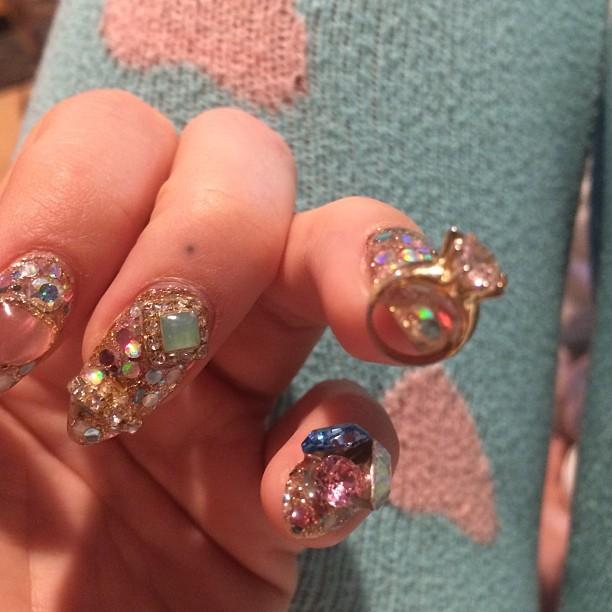 bộ sưu tập mẫu móng Kesha