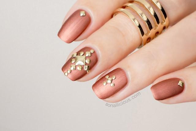 mẫu nail móng ngắn
