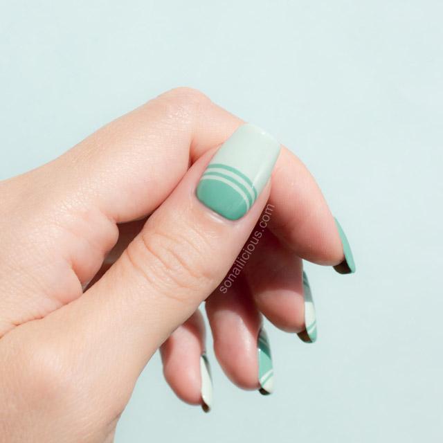 Mint-half-moon-manicure