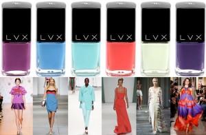 Sản Phẩm Nail: Bộ Sưu Tập LVX Hè 2015
