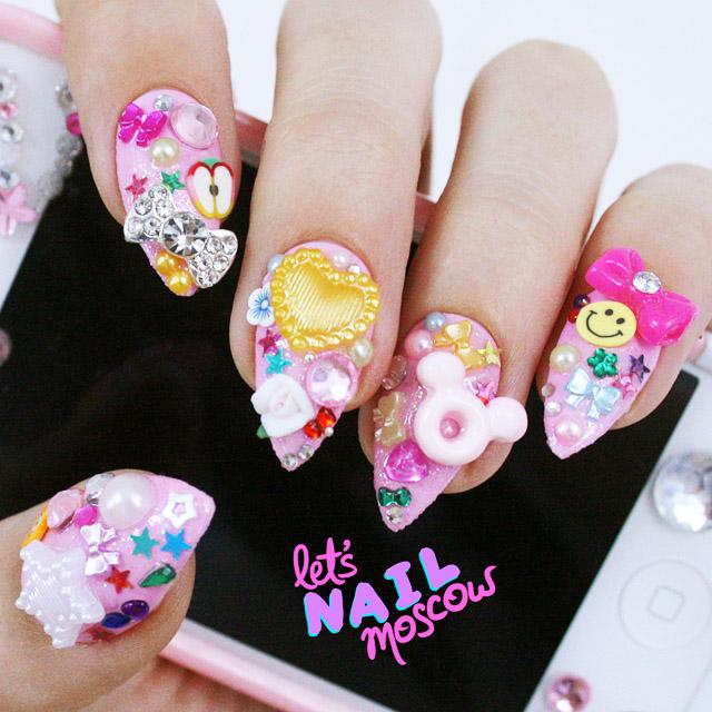 salon nail Let's Nail Moscow