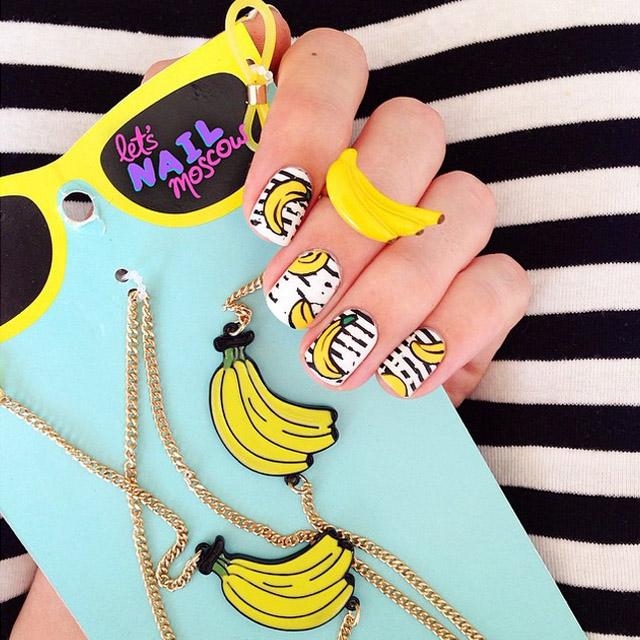 Banana-nails
