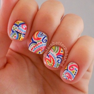 20 Mẫu Nail Instagram Đẹp 2015/16 Từ Life is Better Polished