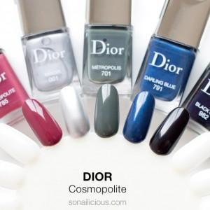 Sản Phẩm Nail Mới – Dior Cosmopolite Fall 2015