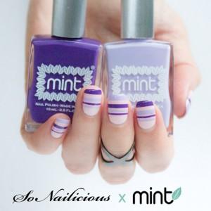 3 Mẫu Nail Đẹp Với Sản Phẩm Nail Mint