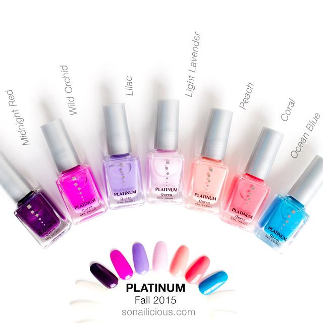 sản phẩm nail Platinum