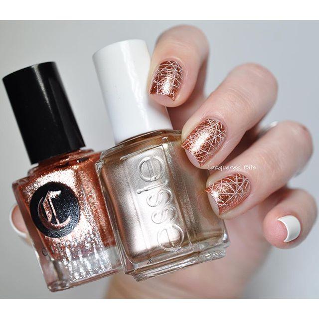 mẫu nail glister