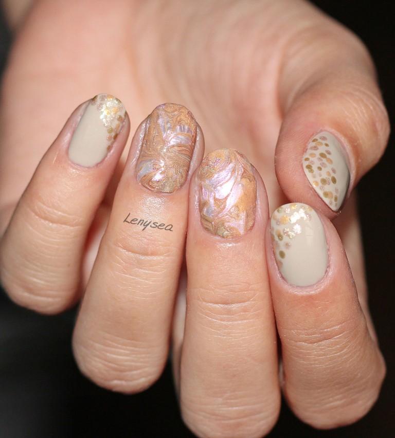 bộ sưu tập nail Champagne