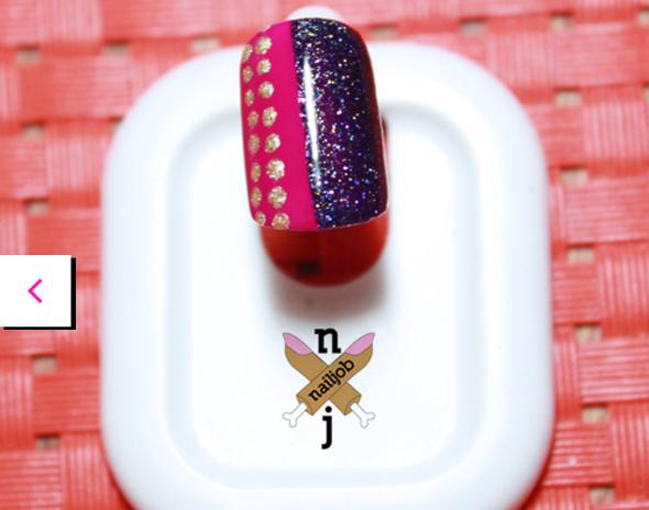 mẫu nail party