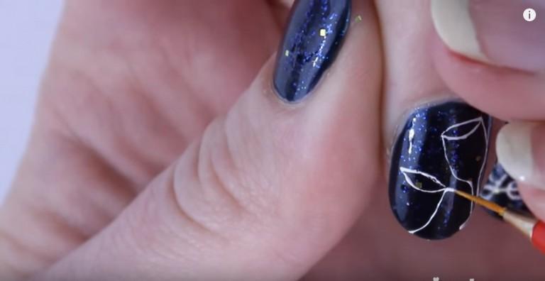 mẫu nail HNY