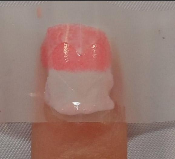 mẫu nail trái tim