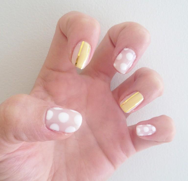 mẫu nail pastel