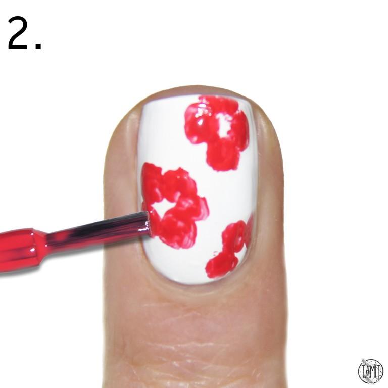 mẫu nail hoa tươi 8-3