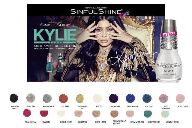 nước sơn King Kylie SinfulShine