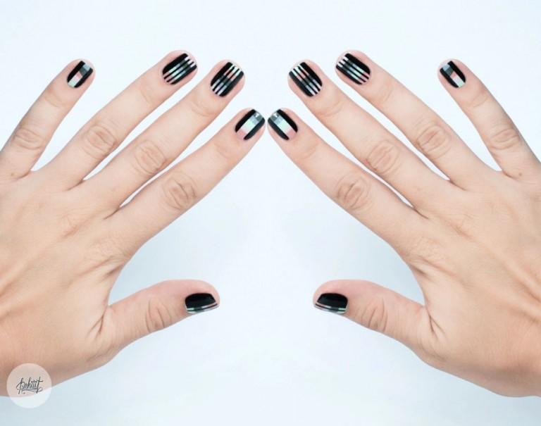 mẫu nail sọc 5
