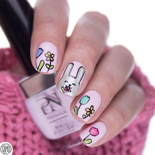 mẫu nail 4