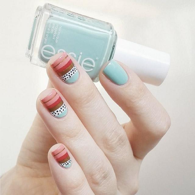 mẫu nail 14