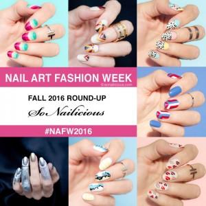 NAFW 2016: 5 Bài Học Về Nghệ Thuật Nail