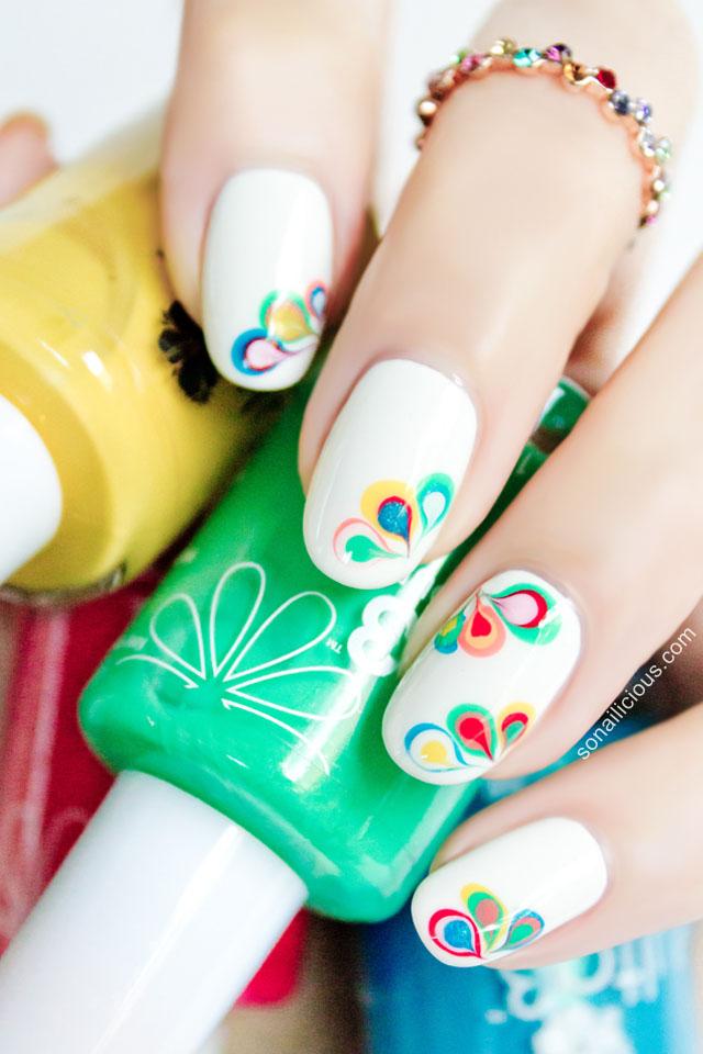 vẽ nail 3