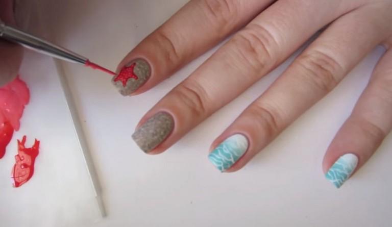 vẽ nail 9