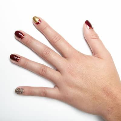 mẫu nail hoàng gia