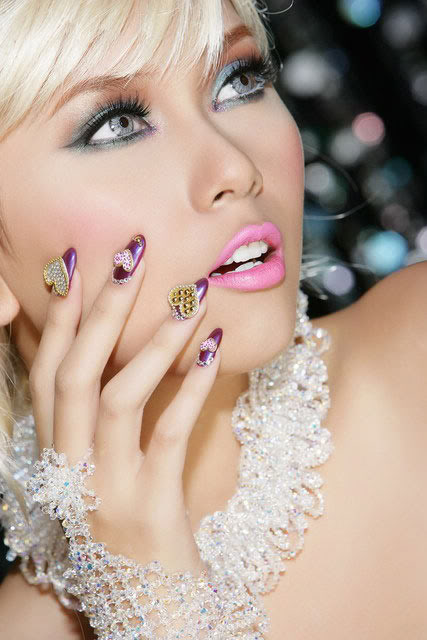 người mẫu nail