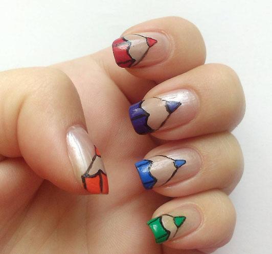 mẫu nail 5