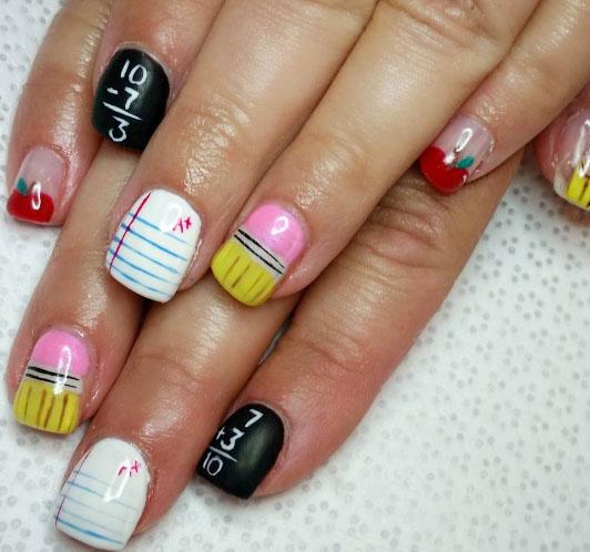 mẫu nail 6