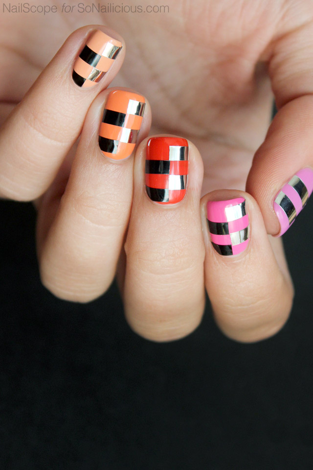 funky-nail-art-ombre-nails-1