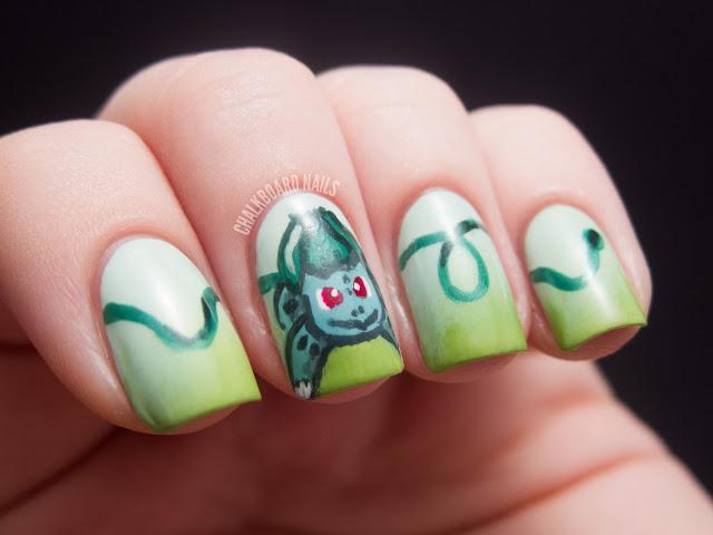 mẫu nail pokemon