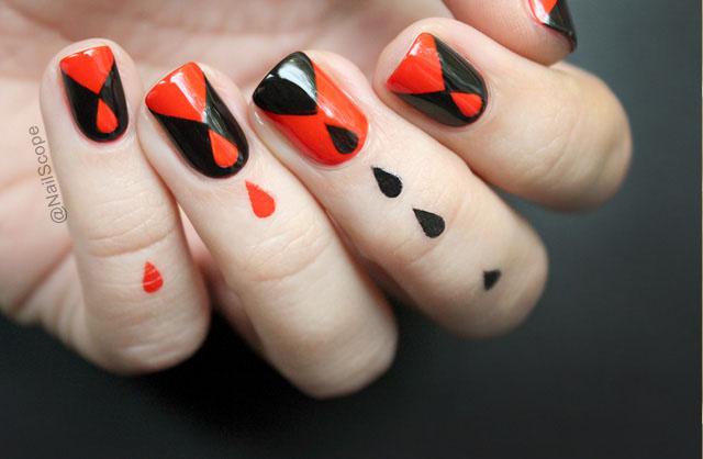 hướng dẫn vẽ nail halloween