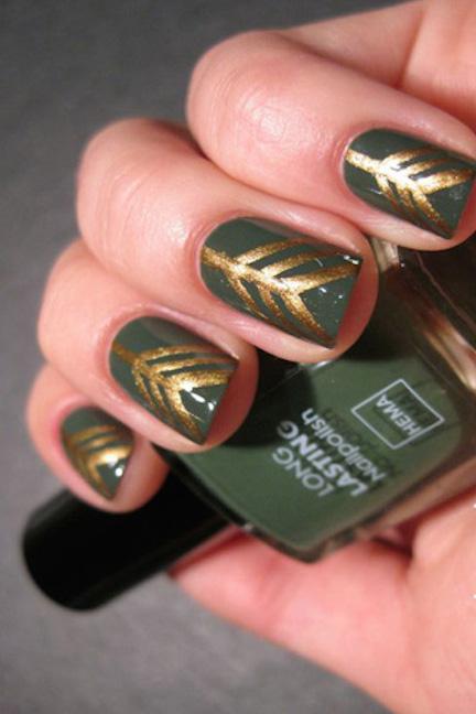 mẫu nail giáng sinh