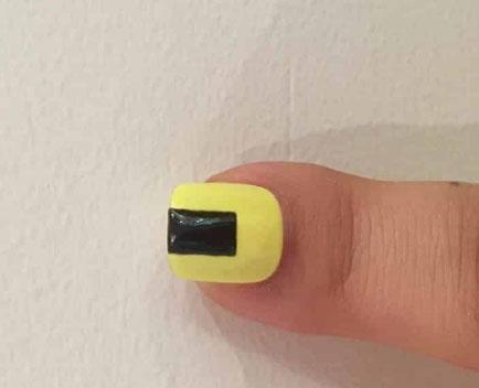 vẽ nail bước 8