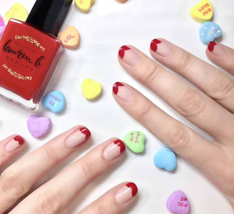 3 Mẫu Nail Valentine Ấn Tượng Từ LAUREN B