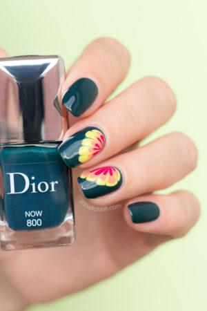 Nail Hoa Nước Từ Nước Sơn Dior Now
