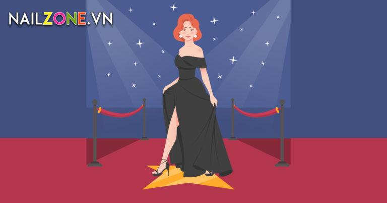 Mẫu Sơn Móng Tay Dự Giải Emmy Của Minnie Driver